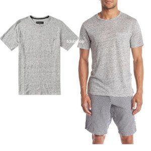 Rag & Bone Owen Slub Linen T-Shirt XL